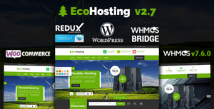 Responsive Hosting and WHMCS WordPress Theme