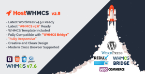 host whmcs wordpress theme