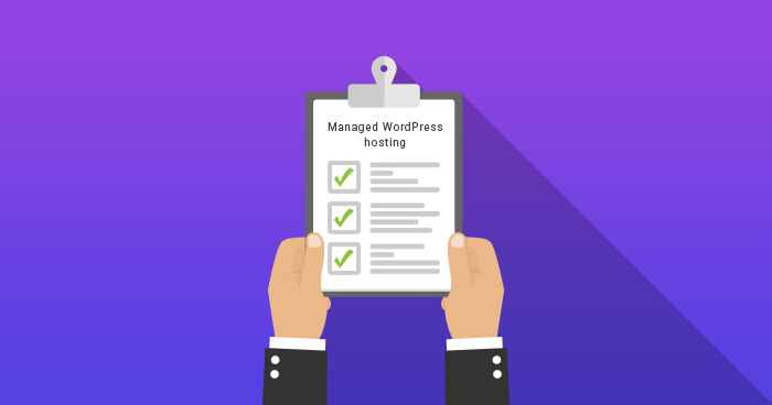 The 10 Point Checklist For Choosing A Managed WordPress Hosting Provider Banner