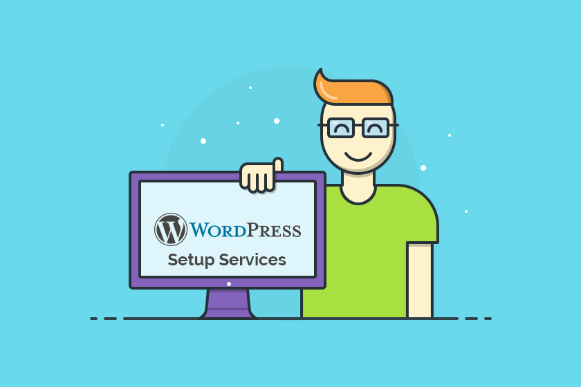 wordpress setup services