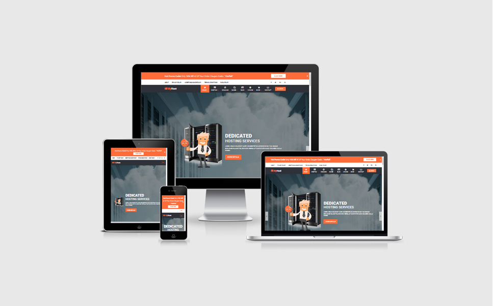 Responsive HTML5 Hosting WHMCS Templates   ThemeLooks
