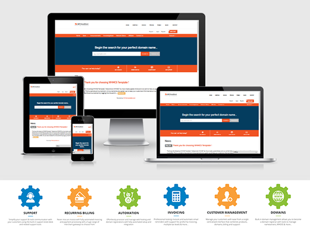WPCloudHost | Cloud Hosting Service HTML5 Template with WHMCS