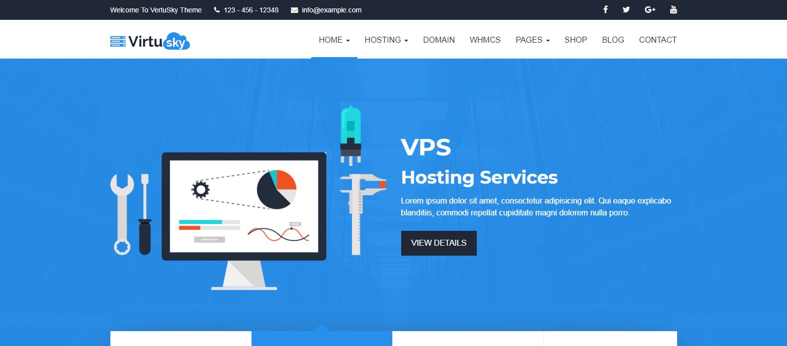 Top 10 Best WHMCS Theme for Web Hosting company