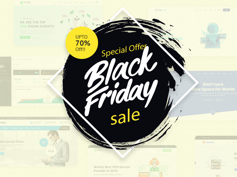 Black Friday Wordpress Deals 2019 Themelooks