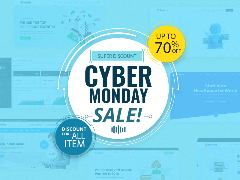 WordPress Cyber Monday Deals 2018
