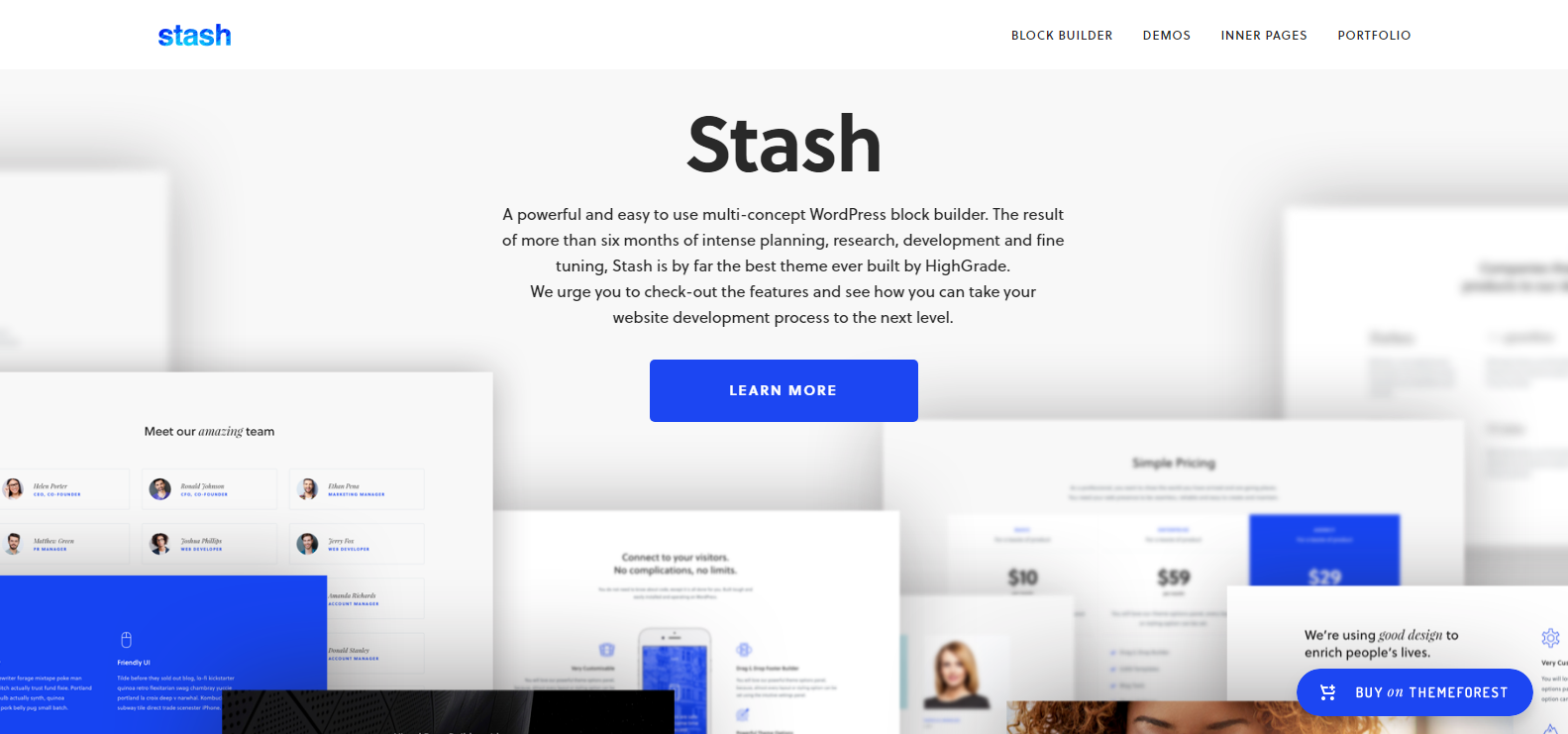 Stash – Creative Multi Purpose WordPress Theme | ThemeLooks