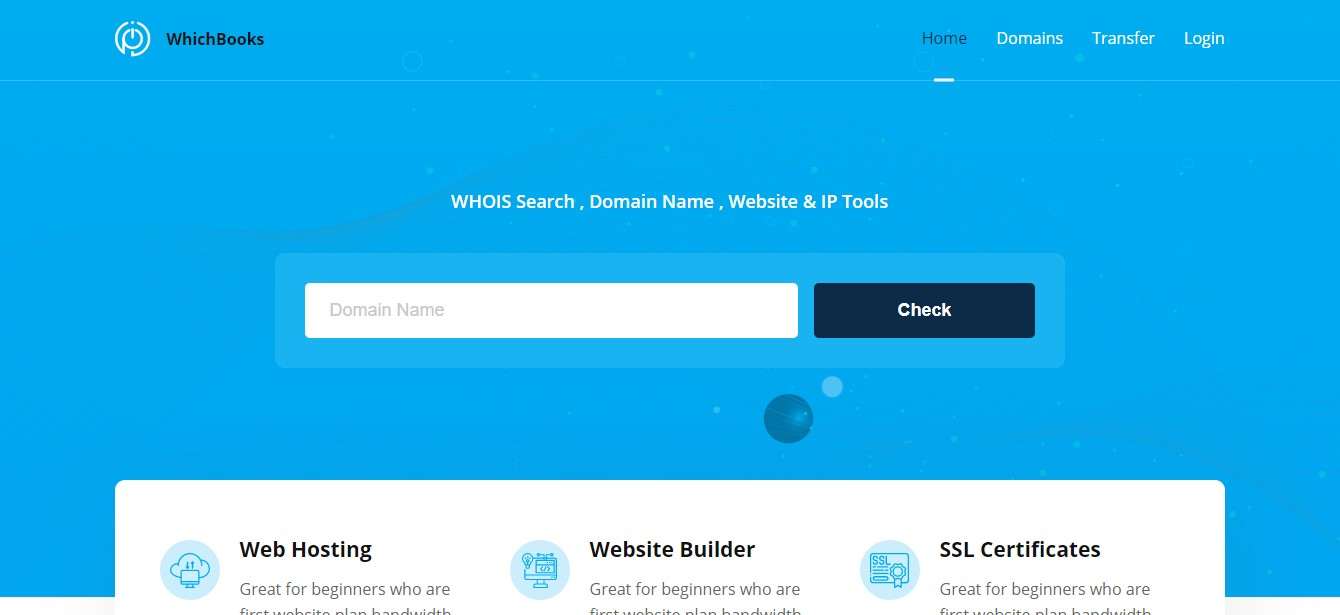 whois Lookup PHP Script