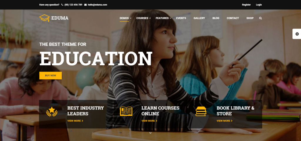 Best WordPress Themes for Education
